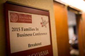 2015 Families in Business conference