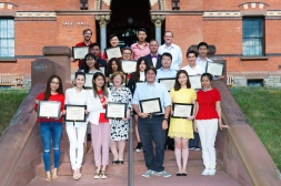 Graduates of 2016 Johnson Global Emerging Leaders Program