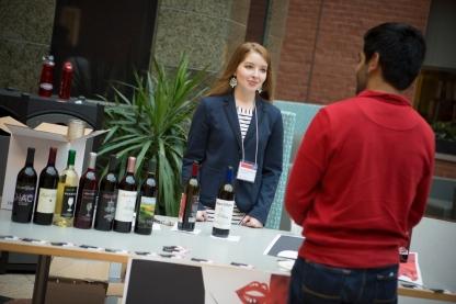 Marissa Sergi (14), founder of Redhead wine