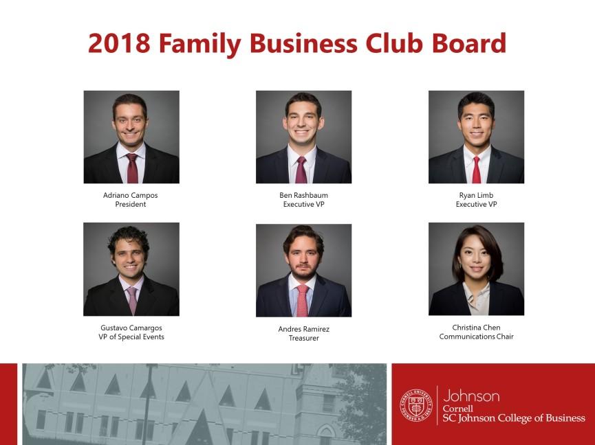 Cornellfambiz smith family business initiative at cornell university fbc 2018 board announcement ccuart Images